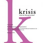 Vorlage Titelbild Krisis 2-2013