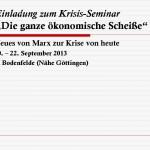 Vorlage Veranstaltung Krisis Seminar